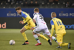 February 17, 2018 - Leuven, BELGIUM - Beerschot's Jan Van Den Bergh fights for the ball during a soccer game between OH Leuven and KFCO Beerschot Wilrijk, in Heverlee, Leuven, Saturday 17 February 2018, on day 27 of the division 1B Proximus League competition of the Belgian soccer championship. BELGA PHOTO JOHN THYS (Credit Image: © John Thys/Belga via ZUMA Press)