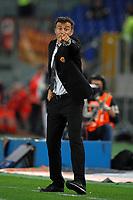 Luis Enrique, allenatore della Roma<br /> Roma, 28/04/2012 Stadio Olimpico<br /> Football Calcio 2011/2012 <br /> Roma vs Napoli<br /> Campionato di calcio Serie A<br /> Foto Insidefoto Antonietta Baldassarre