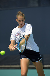 March 23, 2019 - Miami Gardens, Florida, United States Of America - MIAMI GARDENS, FLORIDA - MARCH 23:  Karolina Pliskova on the practice court day 6 of the Miami Open Presented by Itau at Hard Rock Stadium on Saturday on March 23, 2019 in Miami Gardens, Florida..People: Karolina Pliskova. (Credit Image: © SMG via ZUMA Wire)