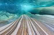 Underwater landdscape of the river Verzasca. Lavertezzo, Canton Ticino, Switzerland<br /> <br /> Impressionen der Verzasca an einem schönen Herbsttag im Oktober