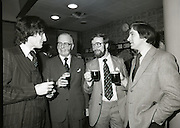 20/12/1978.12/20/1978.20th December 1978. Pictured at the signing ceremony for the new Guinness Computer from left Mr Conal Glynn, I.C.L, Mr Bill Tanner, Guinness Group Sales, Mr Brian McNally, Guinness Computer Bureau and Mr Peter Fullam, A. Guinness Son & Co Ltd.