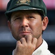 Ricky Ponting after the Australia V Pakistan 2nd Cricket Test match at the Sydney Cricket Ground, Sydney, Australia, 6 January 2010. Photo Tim Clayton