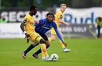 Fotball , 3. juni 2017 ,  , eliteserien , Stabæk - Lillestrøm <br /> Bonke Innocent , LSK<br /> Tortel Lembi , Stabæk