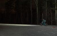 Fat Bike Fury night race at Gunstock Nordic.  ©2018 Karen Bobotas Photographer