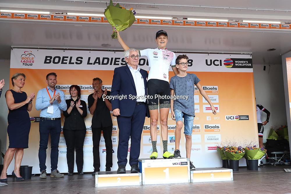 30-08-2018: Wielrennen: Ladies Tour: Gennep<br />Jeanne Korevaar jongeren klassment
