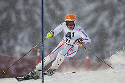 21.12.2011, Hermann Maier Weltcup Strecke, Flachau, AUT, FIS Weltcup Ski Alpin, Herren, Slalom 1. Durchgang, im Bild Matthias Lanzinger (AUT) in Aktion // Matthias Lanzinger of Austria in action during Slalom race 1st run of FIS Ski Alpine World Cup at 'Hermann Maier World Cup' course in Flachau, Austria on 2011/12/21. EXPA Pictures © 2011, PhotoCredit: EXPA/ Johann Groder