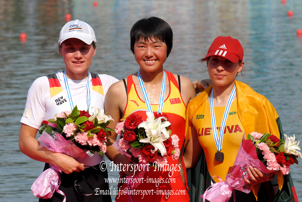 Beijing, CHINA. A Finals at  the  2007. FISA Junior World Rowing Championships,  Shunyi Water Sports Complex. 11/08/2007 [Photo, Peter Spurrier/Intersport-images]