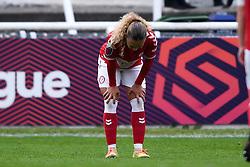 Ebony Salmon of Bristol City Women - Mandatory by-line: Ryan Hiscott/JMP - 18/10/2020 - FOOTBALL - Twerton Park - Bath, England - Bristol City Women v Birmingham City Women - Barclays FA Women's Super League