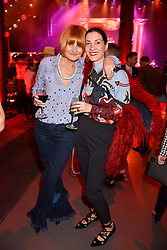 Left to right, Mary Portas and Melanie Rickey at the Save The Children's Night of Country at The Roundhouse, London England. 2 March 2017.