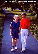 Active Aging Senior Citizens, Retired, Activities, Walking in Nature
