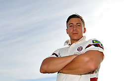 Somerset's Michael Bates. - Photo mandatory by-line: Harry Trump/JMP - Mobile: 07966 386802 - 16/06/15 - SPORT - CRICKET - LVCC County Championship - Division One - Day Three - Somerset v Nottinghamshire - The County Ground, Taunton, England.