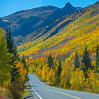 U.S. Highway 550, between Ouray and Silverton Colorado, crossing Red Moutain Pass, is a feat of engineering called the Million Dollar Highway.
