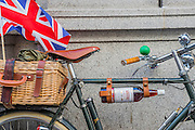 """Ready for the picnic. The Tweed Run 2015 - it's 7th annual British public bicycle ride through London's historic streets, with a prerequisite that participants are dressed in their best tweed cycling attire. There are also plenty of handle bar moustaches, penny farthings and Union Jacks. """"Guests can expect a leisurely day cycling, stopping at some of London's most iconic landmarks to enjoy a spot of tea, a picnic in the park and finally a jolly good knees-up in a beautiful art-deco ballroom for the Tweed Run closing ceremony. Starting at Trafalgar Square, the cyclists then embarked on a 12 mile scenic ride through London, stopping at traditional spots."""