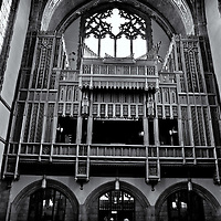 Chapel Organ<br />editted, converted to B&W 2/6/15