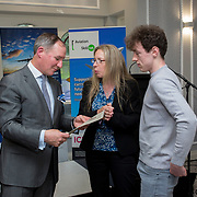 24.05.2018.       <br /> The Limerick Institute of Technology with Atlantic Air Adventures and funding from the Aviation Skillnet presented over forty certificates to Aviation professionals who have completed the Certificate in Aviation, The Aircraft Records Technician Level 7 and Part 21 Design, Level 7.<br /> <br /> Pictured at the event was Jim Gavin, The Irish Aviation Authority and Manager of the Dublin Football Team who presented, with their cert.<br /> <br /> LIT in partnership with Atlantic Air Adventures, CAE Parc Aviation, Part 21 Design and industry experts such as Anton Tams, GECAS, Don Salmon, CAE Parc Aviation and Mick Malone, Part 21 Design have developed and deliver these key training programmes with funding for aviation companies provided by The Aviation Skillnet.<br /> <br /> . Picture: Alan Place
