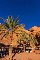 Captain's Desert Camp, Arabian Desert, Wadi Rum, Jordan.