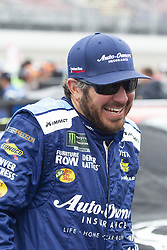 June 10, 2018 - Brooklyn, Michigan, U.S - NASCAR driver MARTIN TRUEX JR. (78) walks in the pit area at Michigan International Speedway. (Credit Image: © Scott Mapes via ZUMA Wire)