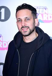 Dynamo aka Steven Frayne attending BBC Radio 1's Teen Awards, at the SSE Arena, Wembley, London