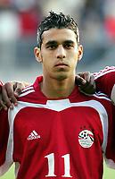 Fotball <br /> FIFA World Youth Championships 2005<br /> Enschede<br /> Nederland / Holland<br /> 11.06.2005<br /> Foto: Morten Olsen, Digitalsport<br /> <br /> Tyskland v Egypt 2-0 / Germany v Egypt 2-0<br /> <br /> Abdallah Said