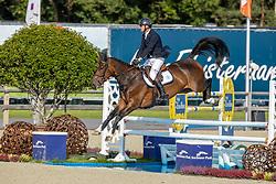 Lelie Walter, BEL, O Music<br /> Belgian Championship 6 years old horses<br /> SenTower Park - Opglabbeek 2020<br /> © Hippo Foto - Dirk Caremans<br />  13/09/2020