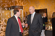 LORD HARRY DALMENY; SIR PETER  OSBORNE, - IN THE FAIR- Lunch at the Ivy Club pop up-restaurant during the preview of Masterpiece Art Fair. Co-hosted by  Count & Countess Filippo Guerrini-Maraldi, and Lord<br /> Dick Daventry. 26 June 2013