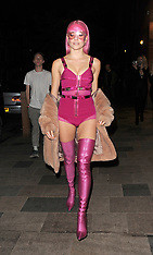 London: Pixie Lott Secret Gig - 14 April 2017