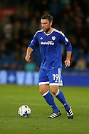 Rickie Lambert of Cardiff city in action .EFL Skybet championship match, Cardiff city v Sheffield Wednesday at the Cardiff city stadium in Cardiff, South Wales on Wednesday 19th October 2016.<br /> pic by Andrew Orchard, Andrew Orchard sports photography.