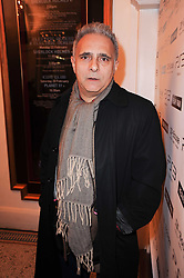 Hanif Kureishi at the launch of Heavy Rain for PlayStation 3 held at The Electric Cinema, Portobello Road, London on 15th February 2010.