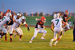 30 August 2019: Peoria Richwood Knights at Normal Normal Community Ironmen football, Normal Illinois