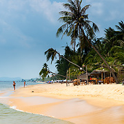 Long Beach sand in Phu Quoc island, Vietnam