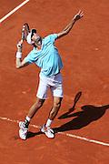 Roland Garros. Paris, France. June 2nd 2012.French player  Julien BENNETEAU against Janko TIPSAREVIC.