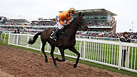 National Hunt Horse Racing - 2017 Randox Grand National Festival - Thursday, Day One [Grand Opening Day]<br /> <br /> Lizzie Kelly on Tea for Two makes her way to post for the 14.50 The Betway Bowl Steeple Chase (Grade1), at Aintree Racecourse.<br /> <br /> COLORSPORT