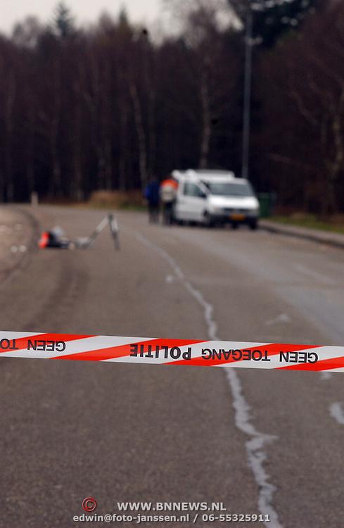 Lijk gevonden A27 parkeerplaats de Bosberg, afzetting