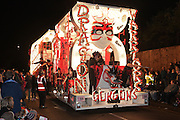 Dragon Warriors by Gorgon Carnival Club in 2011. Bridgwater Carnival is an annual event to raise money for local charities. It is widely reputed to be the largest illuminated carnival in the world.