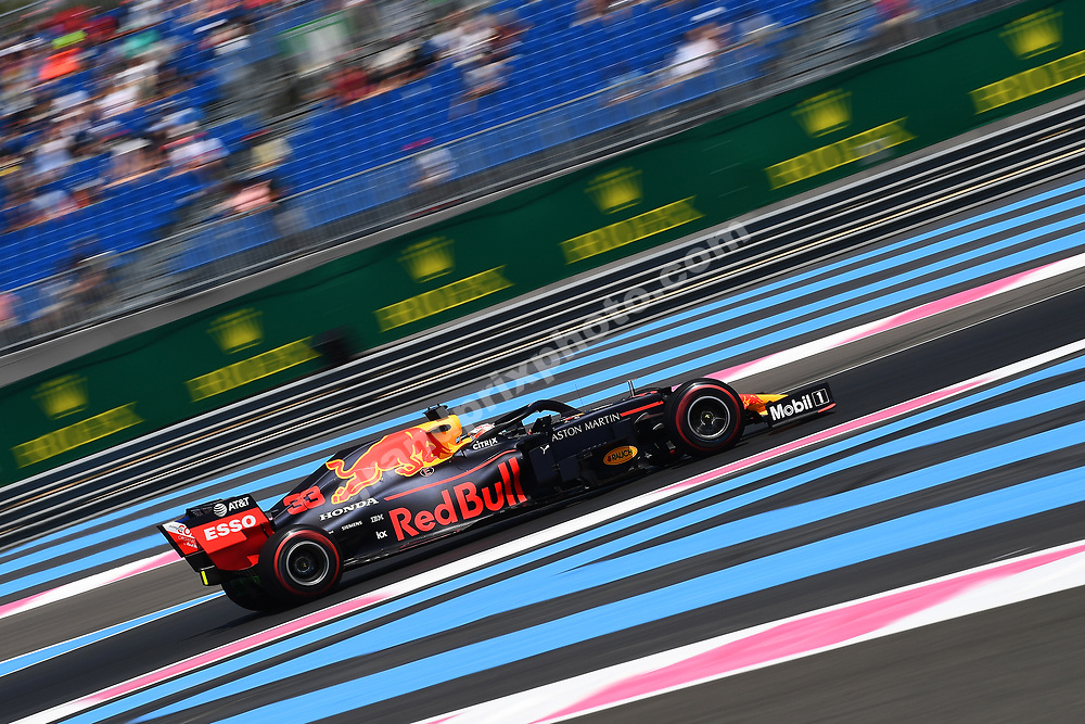 Max Verstappen (Red Bull-Honda) during practice for the 2019 French Grand Prix at Paul Ricard. Photo: Grand Prix Photo