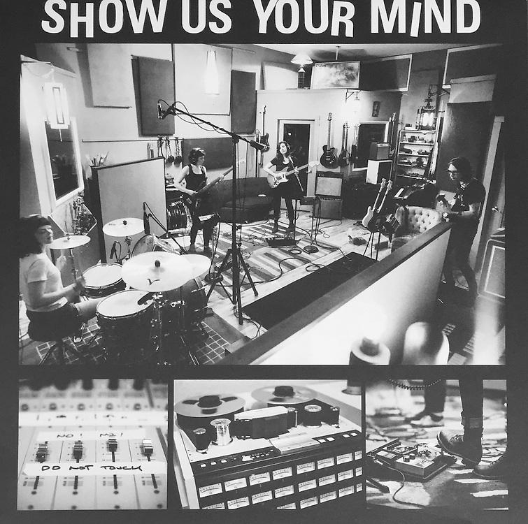 "Summer Cannibals, ""Show Us Your Mind"" album sleeve photos"