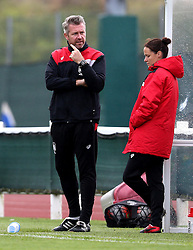 Willie Kirk manager of Bristol City Women - Mandatory by-line: Robbie Stephenson/JMP - 21/08/2016 - FOOTBALL - Stoke Gifford Stadium - Bristol, England - Bristol City Women v Reading Ladies - Mid-season friendly