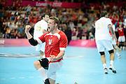 DESCRIZIONE : Handball Jeux Olympiques Londres <br /> GIOCATORE : KNUDSEN Michael DEN<br /> SQUADRA : Danemark <br /> EVENTO : Handball Jeux Olympiques<br /> GARA : <br /> DATA : 31 07 2012<br /> CATEGORIA : Jeux Olympiques<br /> SPORT : HANDBALL<br /> AUTORE : JF Molliere <br /> Galleria : France JEUX OLYMPIQUES 2012 Action<br /> Fotonotizia : Handball Jeux Olympiques Londres premier tour <br /> Predefinita :