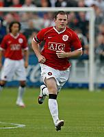 Photo: Glyn Thomas.<br />Macclesfield Town v Manchester United. Pre Season Friendly. 31/07/2006.<br /> Manchester United's Wayne Rooney.