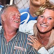 NLD/Amsterdam/20161125 - Boekpresentatie Johnny Rep Biografie, Johnny en partner Annabel