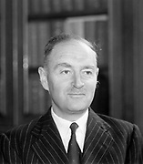 Liam Cosgrave TD, Minister for Foreign Affairs 1954 - 1957.