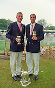 Henley Royal Regatta 1995, Goblets and Stewards winners. Matthew PINSENT and Steven REDGRAVE. [Mandatory Credit: Peter SPURRIER/Intersport Image]