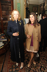 A party to promote the exclusive Puntacana Resort & Club - the Caribbean's Premier Golf & Beach Resort Destination, was held at Spencer House, London on 13th May 2010.<br /> <br /> Picture shows:-Left to right, MRS IAN BOND and FABIANA MARENGHI
