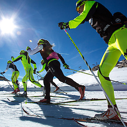 20141007: AUT, Cross country - Media day of Slovenian Nordic Cross country team at Dachstein