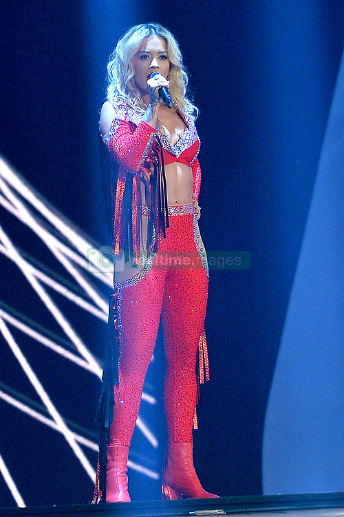 May 25, 2018 - DüSseldorf, Germany - Musician Rita Ora performs during the final of Germany's Next Top Model at the ISS Dome on May 24 2018 in Düsseldorf, Germany..IBy Line: Famous/ACE Pictures...ACE Pictures Inc. (Credit Image: © Famous/Ace Pictures via ZUMA Press)