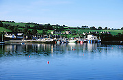 Fishing boats in the harbour at Union Hall, village, County Cork, Ireland