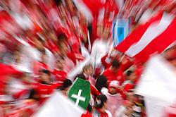A torcida do Internacional comemora o título do campeonato gaúcho 2008, no estádio Beira Rio, em Porto Alegre. FOTO: Lucas Uebel / Preview.com