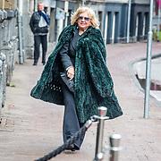 NLD/Amsterdam//20170309 - Herdenkingsdienst Guus Verstraete, Willeke Alberti