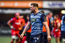 Cardiff Blues' Owen Lane - Mandatory by-line: Craig Thomas/Replay images - 31/12/2017 - RUGBY - Cardiff Arms Park - Cardiff , Wales - Blues v Scarlets - Guinness Pro 14