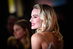 Margot Robbie attending the premiere of Mary Queen of Scots, at the Cineworld cinema in Leicester Square, London. Picture date: Monday December 10, 2018. Photo credit should read: Matt Crossick/ EMPICS Entertainment.